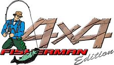 4 X 4 FISHERMAN EDITION GRAPHIC DECAL