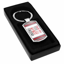 Keyring - Thank you for being my BEST FRIEND Gift Idea Present mates cute #25