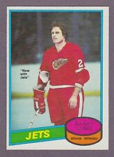 1980-81 OPC O-Pee-Chee Hockey Barry Long #258 Winnipeg Jets Red Wings NM/MT