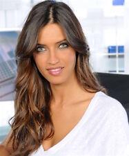 SARA CARBONERO sexy Spanish sports reporter color 8x10 portrait