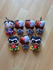 Mc Donald`s Happy Meal Superhelden 7 Figuren