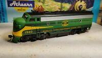 Athearn  John Deere F7 A super powered locomotive train engine HO custom