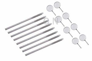 Dental Mirrors with Handles Excellent Quality Surgical Dental Instruments 8 Set