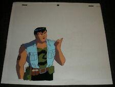 Cadillacs & Dinosaurs Cartoon Animation Cel & Drawing C16 Jack Tenrec