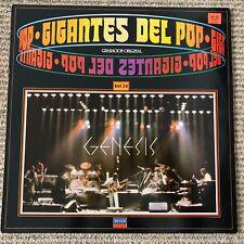 Genesis - Gigantes Del Pop - Scarce 1981 Spanish 17 track vinyl LP