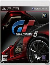 Used PS3 Gran Turismo 5 GT SONY PLAYSTATION 3 JAPAN JAPANESE IMPORT