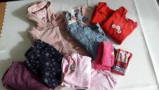 Kleiderpaket Mädchen, Größe 86-92, 10teilig,