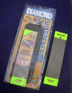 EZE - LAP double sided Diamond Sharpening Stone Medium/Coarse Fine Superfine USA