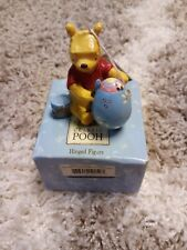 Classic Pooh Painting Egg Hinged Figure Easter Piglet Midwest Cannon Disney