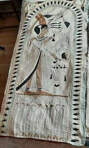 Lovely pair of decorative Egyptian style tapestries