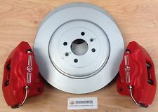 MGF MG TF BRAKE UPGRADE NEW O/S & N/S 304mm DISCS + NEW 2 POT AP CALIPERS