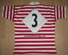 Match Worn Manchester Rugby Shirt X-Large - Good