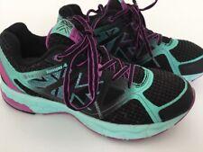 Womens Karrimor Run Tempo 4 Trainers Uk 5 Black,blue,purple..preowned