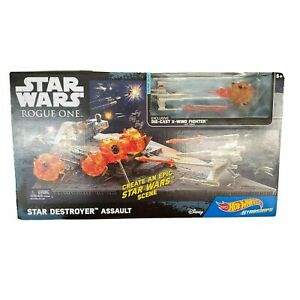 Star Wars Starship Battle Scenes Play Set Hot Wheels Rogue One