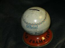 1970 Baltimore Orioles World Series Champions Coin Bank