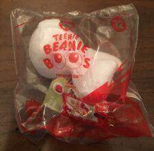 McDonalds TY Teenie Beanie Baby Boos #12 Frostiness Polar Bear Happy Meal Toy