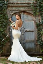 Watters Cora Love Marley Wedding Dress Size 6 Ivory