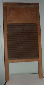 National Washboard Co.No 442 ~ USA ~ Midget wood with metal