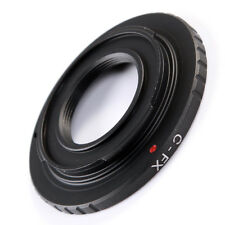 Metal C Mount Lens Mount Adapter to Fuji Fujifilm X-Pro1 X-E1 X-M1 X-E2 Camera