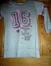 Girls grey t shirt age 10 -11