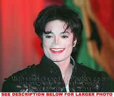 MICHAEL JACKSON 1995 BIG SMILE (1) RARE  PHOTO