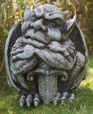 """Gartenfigur """"Gargoyle mit Schwert"""" - Garten, Figur, Gargoyle"""