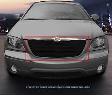Black Billet Grille Upper Insert For Chrysler Pacifica 2004 2005 2006