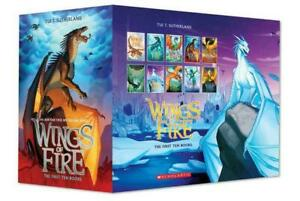 NEW 10 Book Set Wings of Fire Boxset Books By Tui T. Sutherland Brand New