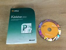 Microsoft Office Publisher 2010 Full UK Retail Boxed 32/64-bit DVD