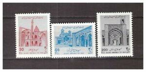 38416) Ir An 1988 MNH Mosques 3v