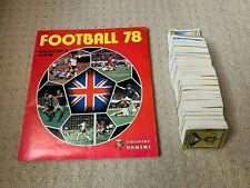 Panini Football 78 Stickers (276-525) - Complete Your Collection