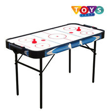 4Ft Air Hockey Table W/Accessories Foldable Indoor Games Fun Home Kids Gift Toys