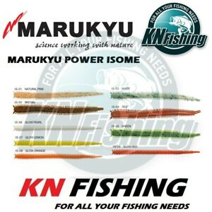 MARUKYU POWER ISOME Artificial Sandworms Amino Boosted Size Large 11cm 15pcs