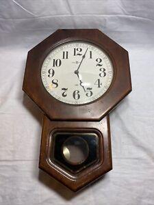 HOWARD MILLER REGULATOR WALL CLOCK WESTMINSTER CHIME # 612-472 Y4