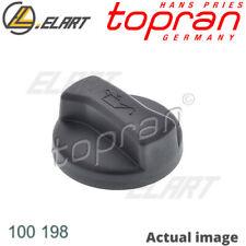OIL FILLING PORT SEALING CAP FOR AUDI VW SEAT FORD SKODA 80 80 82 B1 FY TOPRAN