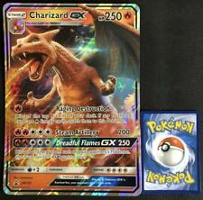 Pokemon - Detective Pikachu - Charizard Gx Sm195 - Jumbo - Promo - Nm/M