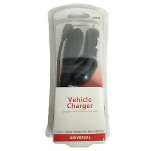 Verizon Universal Vehicle Charger Mini-USB Port