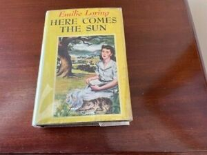 EMILIE LORING HC BOOK WITH DJ HERE COMES THE SUN