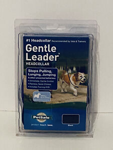 PetSafe Gentle Leader Headcollar No-Pull Dog Size Small (up to 25 lb) - Black