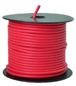 Southwire, 100', Red, 12 Gauge, Primary Wire