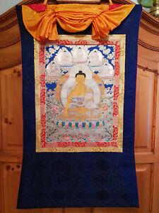 Handgemaltes Buddhabild (Thangka)