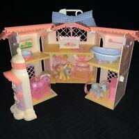 Vintage My Little Pony G1 1985 Lullaby Nursery Playset Furniture Baby Ponies etc