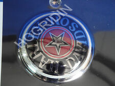Harley softail dyna sportster road king H D gas fuel tank cap cover medallion