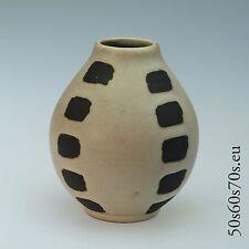 Keramik Vase van Daalen H=10,3 cm 70er Jahre/70s Design - WGP - Fat Lava #293