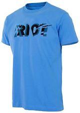 GHOST Bikes | T-Shirt RIOT | Bike Shirt | Blau/Schwarz | XL
