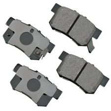 GNAD536  Rear Ceramic Brake Pads with brake hardware GOLD series wearever