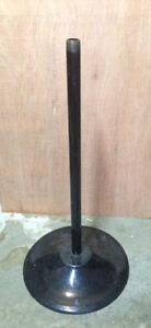 Pipe & Stand for Gumball Candy Vending machine Oak Northwestern Beaver Eagle