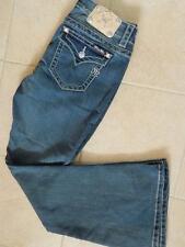 Miss Me Women Rhine Stone Flare Denim Jeans (JE8300F2R) - 27