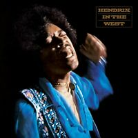 JIMI HENDRIX - HENDRIX IN THE WEST - LIVE! CD ~ GUITAR *NEW*