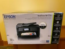 🔥 Brand New Epson WorkForce WF-7710 All-In-One Inkjet Printer 🔥